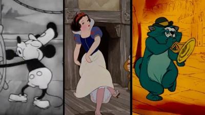 A evolução da animação de 1833 até 1990
