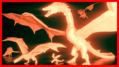 Veja a comparação de tamanho dos dragões mais famosos