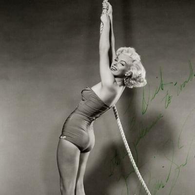 Fotos raríssimas que mostram como Marilyn Monroe era antes da fama