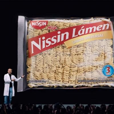 Nissin Lámen apresenta o seu miojo universal
