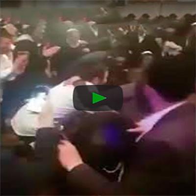 Até na festa dos rabinos tem zoeiro