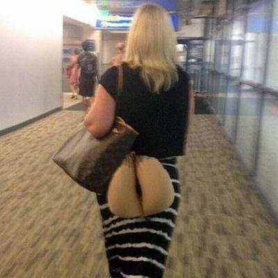20 pessoas e situações estranhas que só são vistas em aeroportos