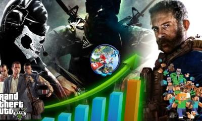 Confira ia jogos mais vendidos da década!