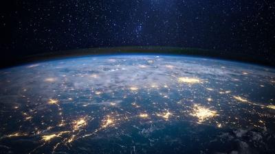 Como seria se os 8 bilhões de humanos vivessem no mesmo lugar