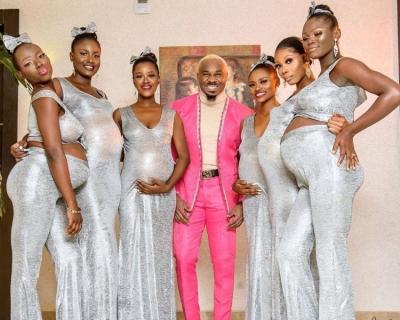 Homem vai a festa de casamento com seis