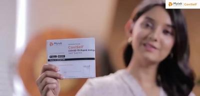 Índia lança teste de Covid para ser feito em casa