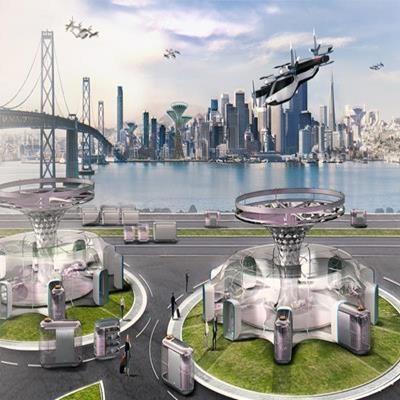 Hyundai prepara conceito de carro voador para cidades do futuro