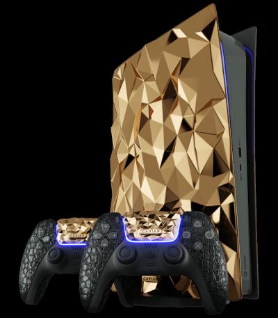 Empresa fez um PlayStation 5 com 20kg de ouro
