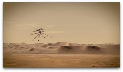 Linux chega a Marte a bordo da Ingenuity