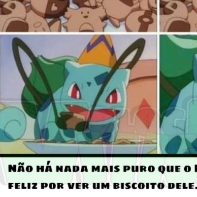 Bulbasauro é o pokemon mais legal!