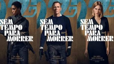007 — Sem Tempo para Morrer ganha a quinta data de lançamento