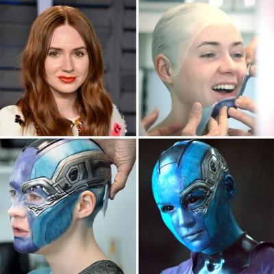Imagens mostram o poder da maquiagem em filmes