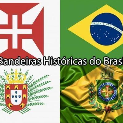 Você sabia que o Brasil já teve 13 bandeiras?