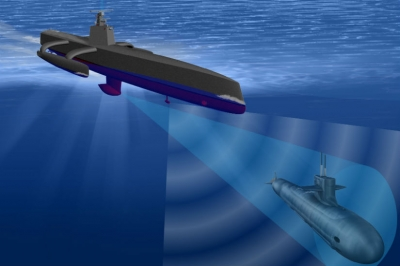 A China está construindo drones submarinos para defender mar do Sul da China