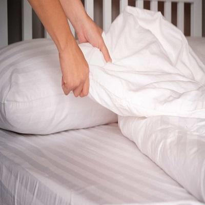 O que acontece quando você não lava os lençóis