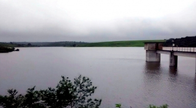 Com as chuvas aumentou os níveis das barragens