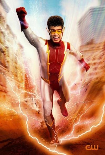 Impulso, novo personagem de Flash ganha sua primeira imagem