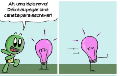Uma ideia nova!