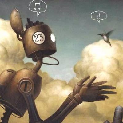 Os robôs na arte de Brian Despain  | Sovaco de Sapo