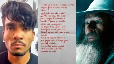 Lázaro Barbosa: Serial killer brasileiro carregava carta com frase do Senhor dos