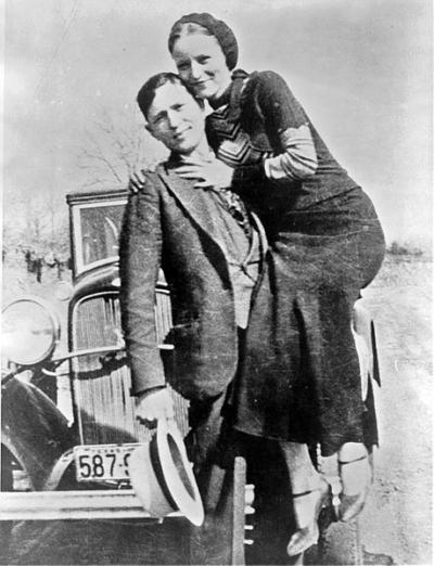 Conheça a história dos criminosos mais famosos do mundo - Bonnie e Clyde