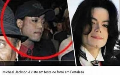 Michael Jackson é visto em festa de forró