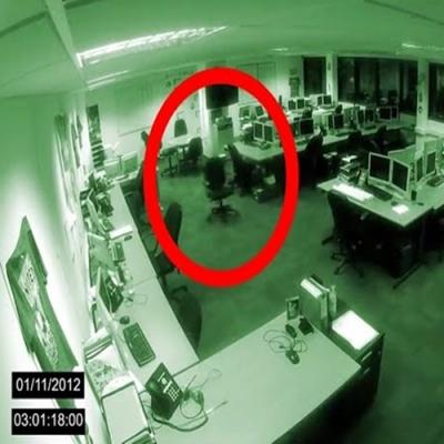 Atividade paranormal flagrado em prédio de escritórios