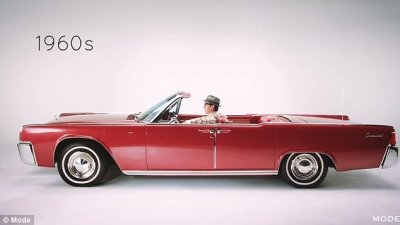 100 anos de evolução de carros de luxo em 2 minutos