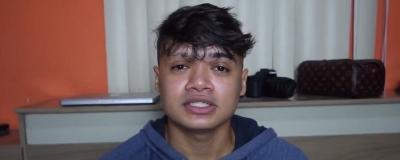 Youtuber preso durante pegadinha grava vídeo dando sua versão dos fatos