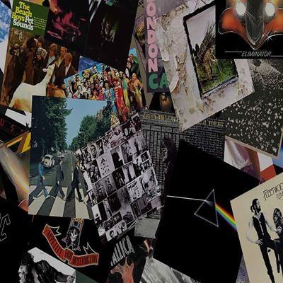 Os álbuns mais vendidos de algumas grandes bandas do rock