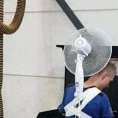 Ventilador móvel