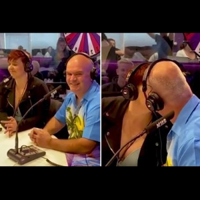 Mulher beija o pai 'de língua' para faturar R$ 3,8 mil em desafio em rádio