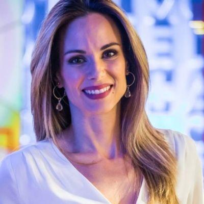 Em tratamento contra câncer, Ana Furtado viaja com máscara no rosto
