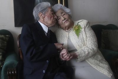 Recorde: Equatorianos se tornam o casal mais velho do mundo