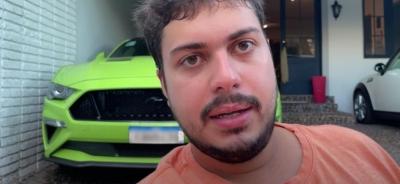 Youtuber faz rifa ilegal de Mustang por R$ 1 milhão e não entrega carro