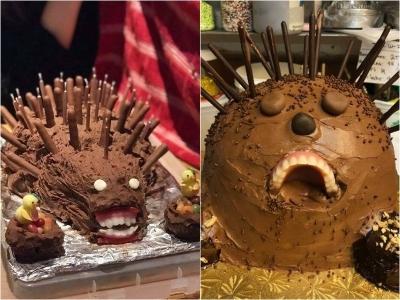 15 Vezes que as pessoas tentaram fazer o bolos, mas falharam miseravelmente 2