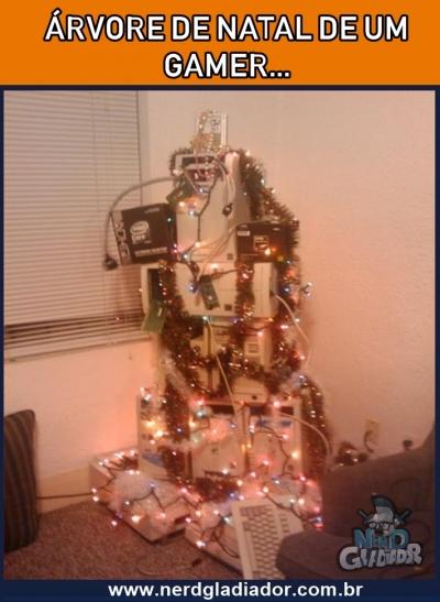 Como é a Árvore de Natal de um Play Gamer