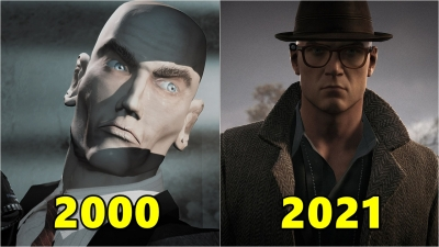 A evolução do hitman nos games 2000-2021