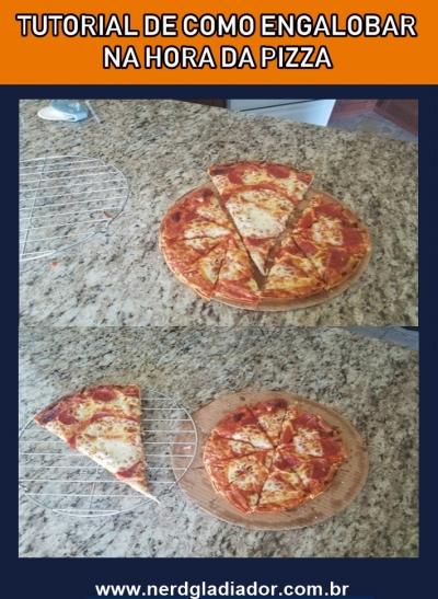 Como cortar de maneira certa uma pizza entre amigos