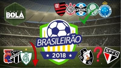 Vasco vai cair de novo? Apostas do Brasileirão 2018!