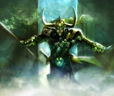 Loki o deus da trapaça - MITOLOGIA NÓRDICA