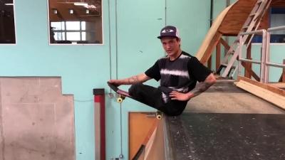 Conheça Felipe Nunes, o skatista que não tem pernas