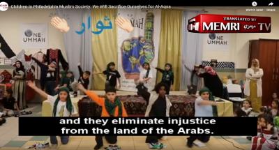 """Vídeo mostra crianças muçulmanas nos EUA cantando """"vamos cortar cabeças por Alá"""""""
