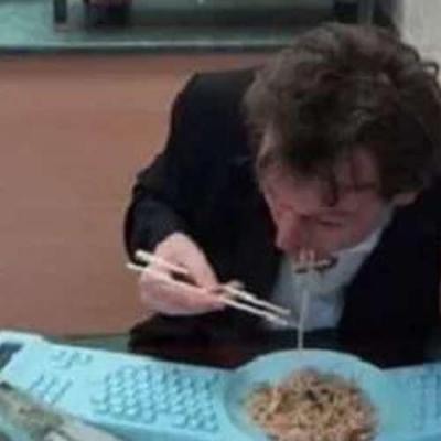 Teclado prato