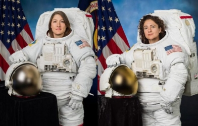 Nasa realiza primeira caminhada espacial totalmente feminina