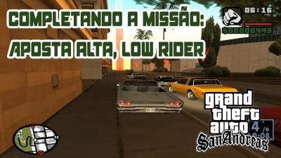 GTA San Andreas #16  Apostas altas, baixo piloto