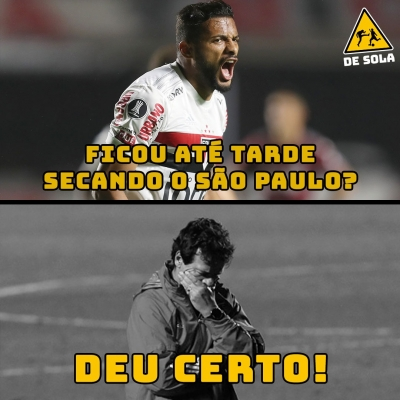 São Paulo é eliminado da Libertadores, e rivais não perdoam nas zoeiras