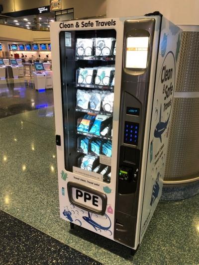 Aeroporto de Las Vegas instala máquinas de venda de máscaras