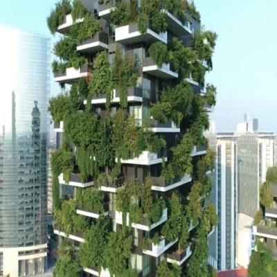 A primeira floresta vertical do mundo