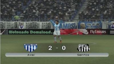Avaí x Santos (Winning Eleven 9)